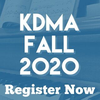 Registration information for fall 2020 music classes